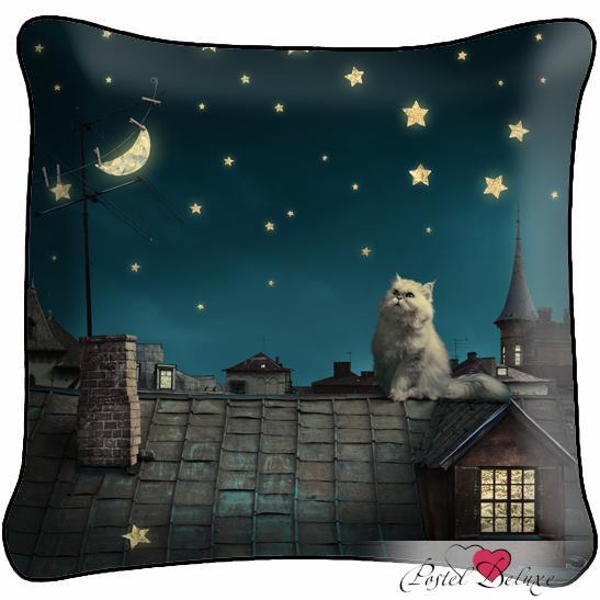 Декоративные подушки Fototende Декоративная подушка Кот декоративные подушки fototende декоративная подушка кот матроскин