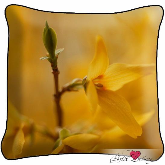 Декоративные подушки Fototende Декоративная подушка Желтый Цветок декоративные подушки оранжевый кот подушка игрушка медведь чистые погоны чистая совесть