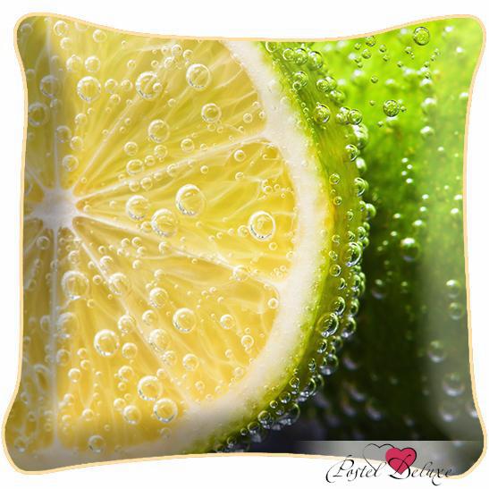 Декоративные подушки Fototende Декоративная подушка Лимон декоративные подушки оранжевый кот подушка игрушка медведь чистые погоны чистая совесть