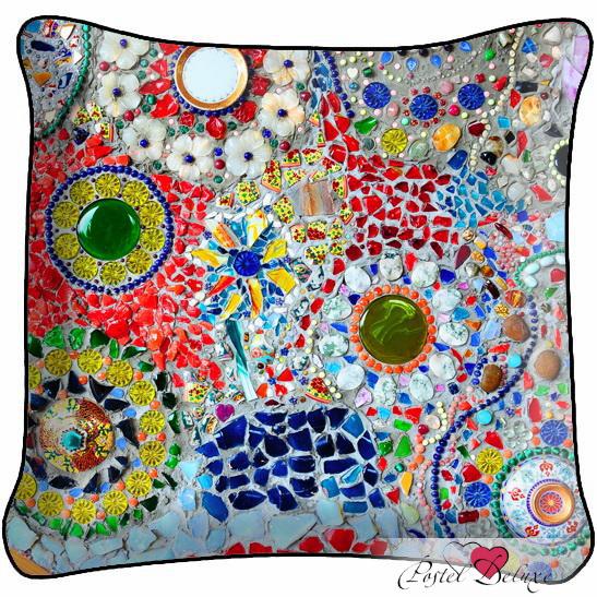 Декоративные подушки Fototende Декоративная подушка Мозайка семена тыква декоративная мозайка 5шт
