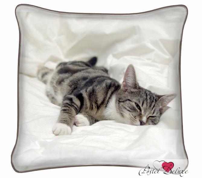 Декоративные подушки Fototende Декоративная подушка Кися Спит декоративные подушки fototende декоративная подушка кот матроскин