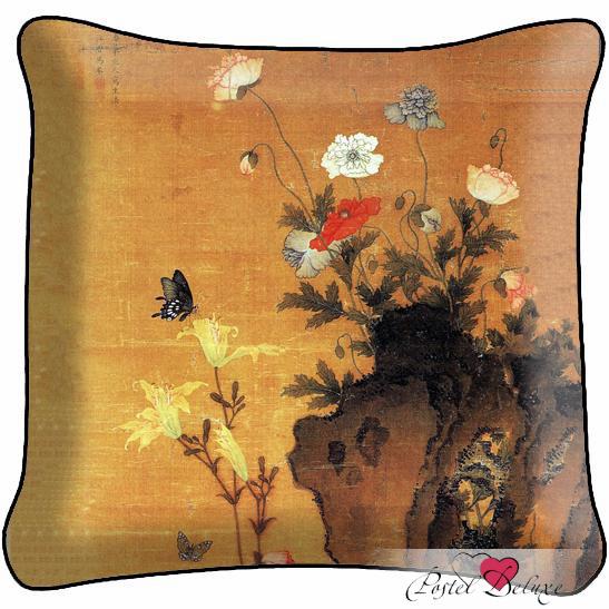 Декоративные подушки Fototende Декоративная подушка Китайская Живопись декоративные подушки оранжевый кот подушка игрушка медведь чистые погоны чистая совесть