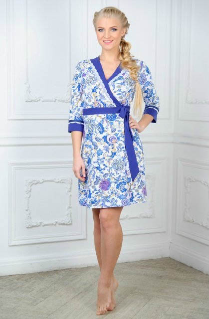 Домашние халаты Mia Cara Домашний халат Mia Cara Magic (xxL) пижама женская mia cara футболка шорты цвет розовый бежевый ss16 mcuz 293 размер 50 52