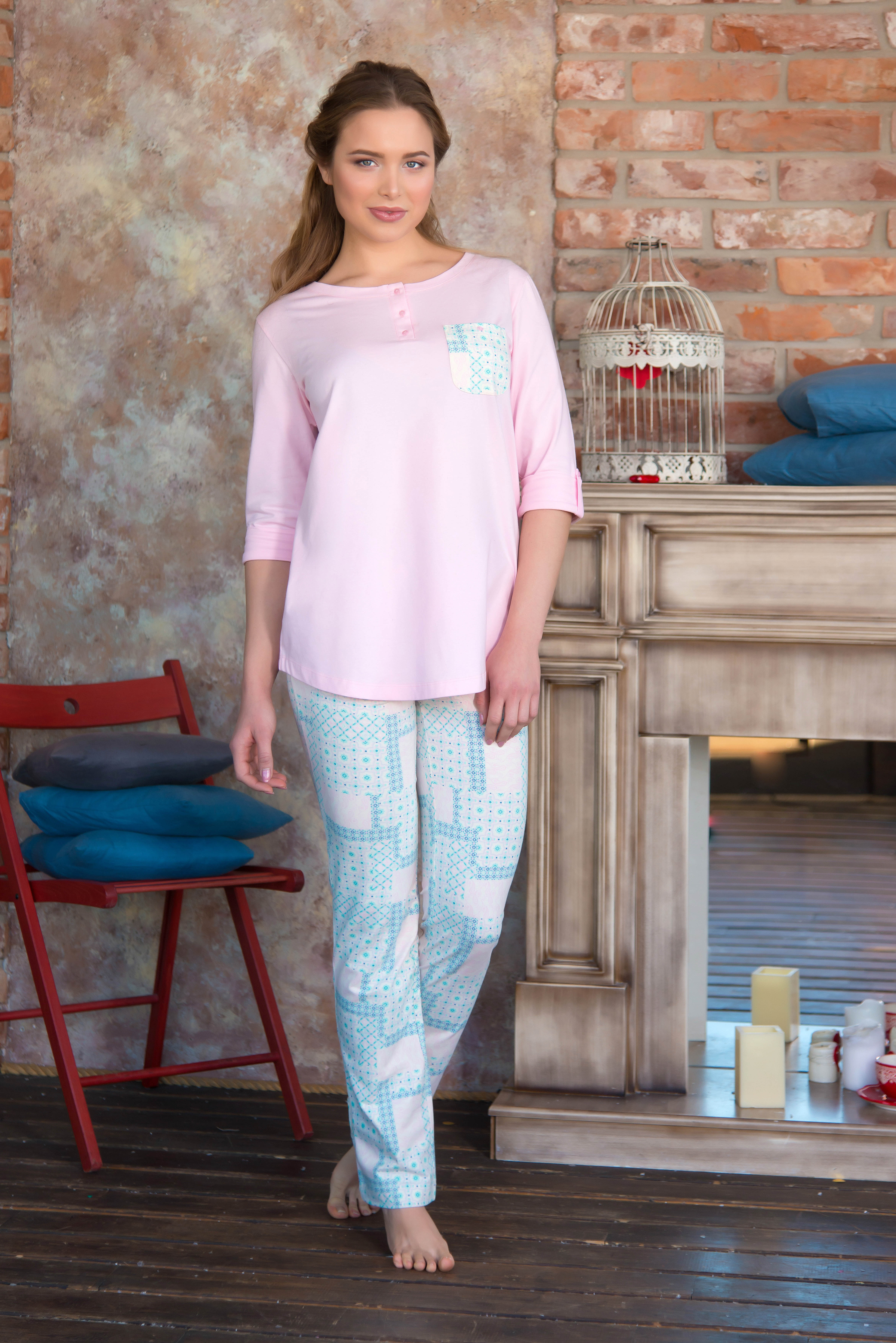 Костюмы для дома и отдыха Mia Cara Костюм для дома Arissa Цвет: Розовый (xxxL) пижамы mia cara пижама paisley цвет розовый m l