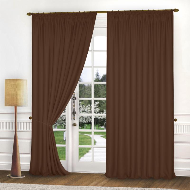 Шторы Elegante Классические шторы Спокойствие Цвет: Коричневый шторы primavera классические шторы maev цвет персиковый