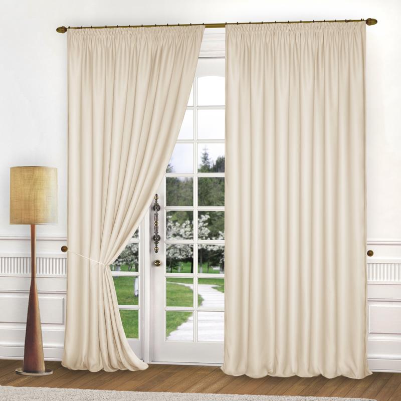 Шторы Elegante Классические шторы Спокойствие Цвет: Кремовый шторы tac классические шторы winx цвет персиковый 200x265 см
