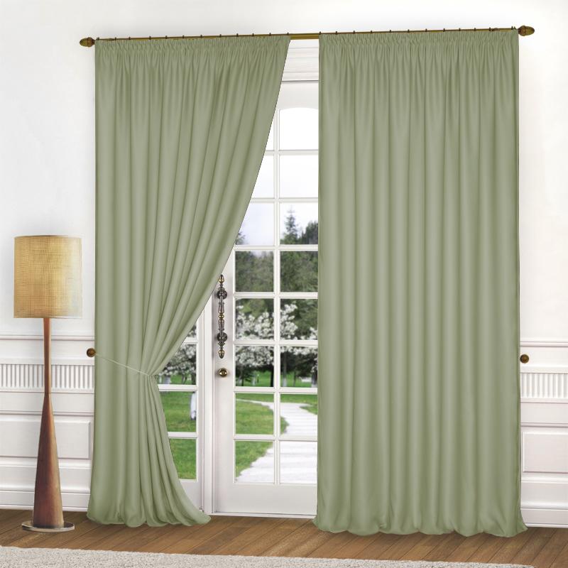 Шторы Elegante Классические шторы Спокойствие Цвет: Оливковый шторы tac классические шторы winx цвет персиковый 200x265 см
