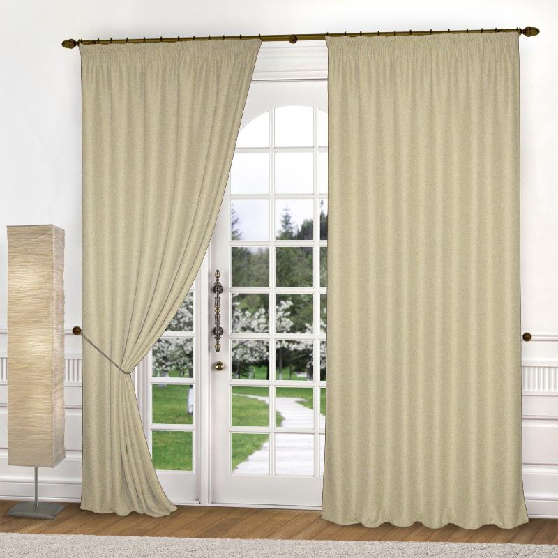 Шторы Elegante Классические шторы Amber Цвет: Кремовый
