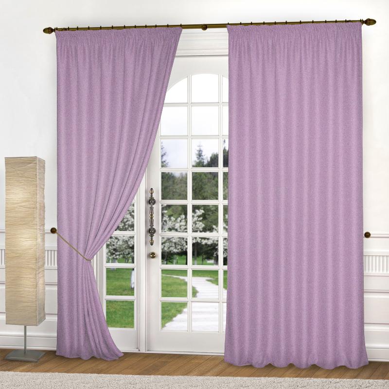 Шторы Elegante Классические шторы Шик Цвет: Сиреневый шторы primavera классические шторы maev цвет персиковый