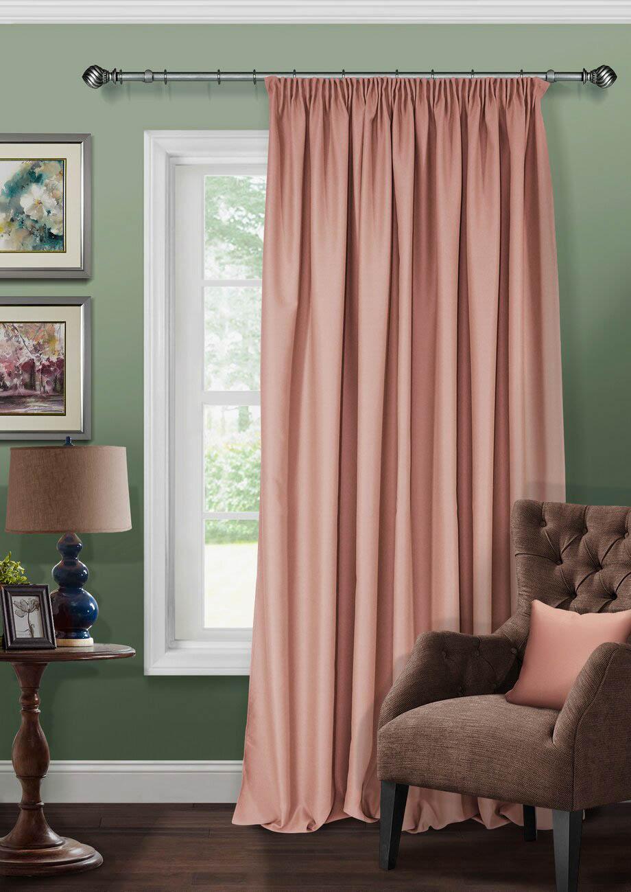 Шторы Kauffort Классические шторы Lewella Цвет: Розовый шторы kauffort классические шторы barolo