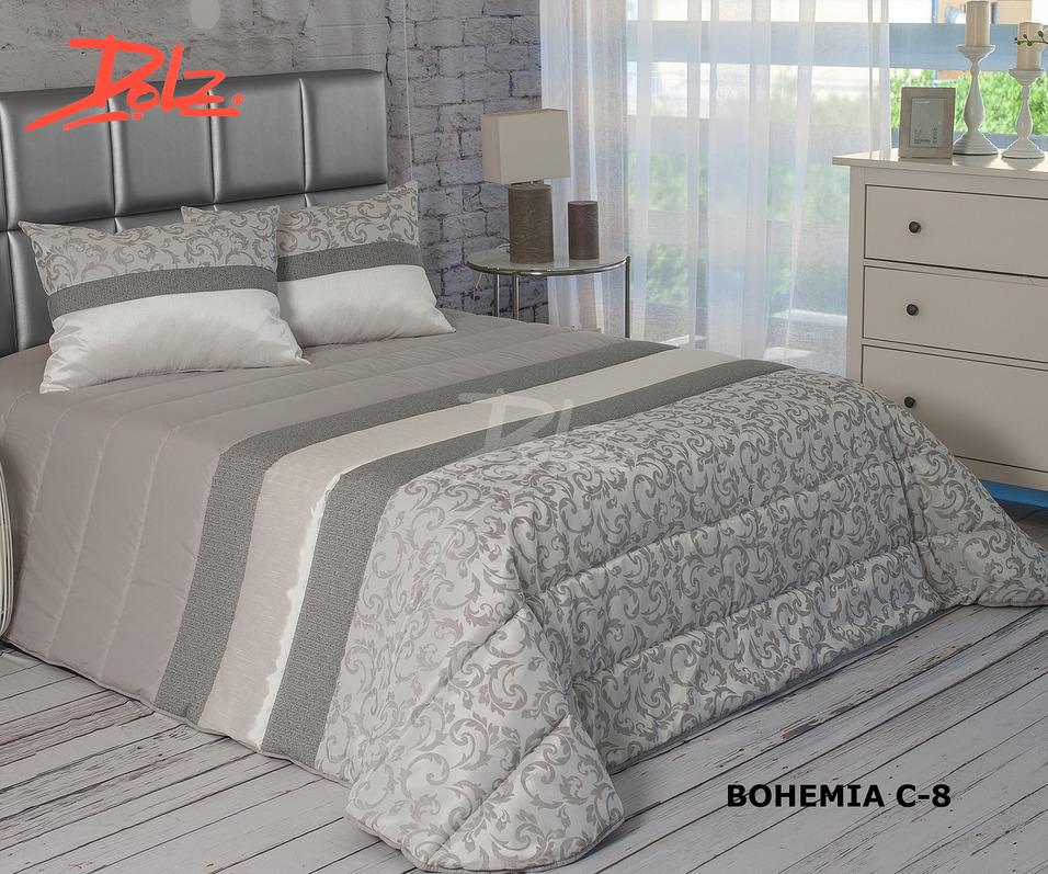 Покрывало Dolz Покрывало Bohemia Цвет: Серый (230х270 см) dolz dolz покрывало manila 230х270 см