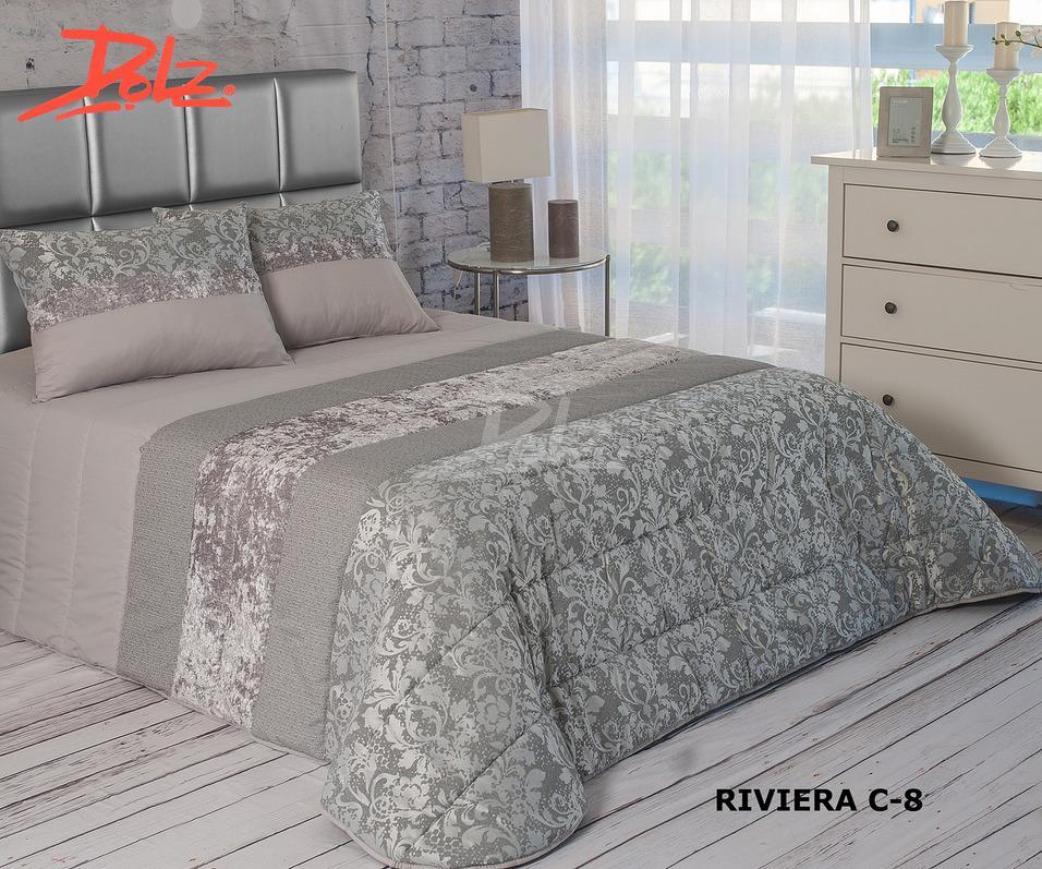 Покрывало Dolz Покрывало Riviera Цвет: Серый (230х270 см) dolz dolz покрывало manila 230х270 см