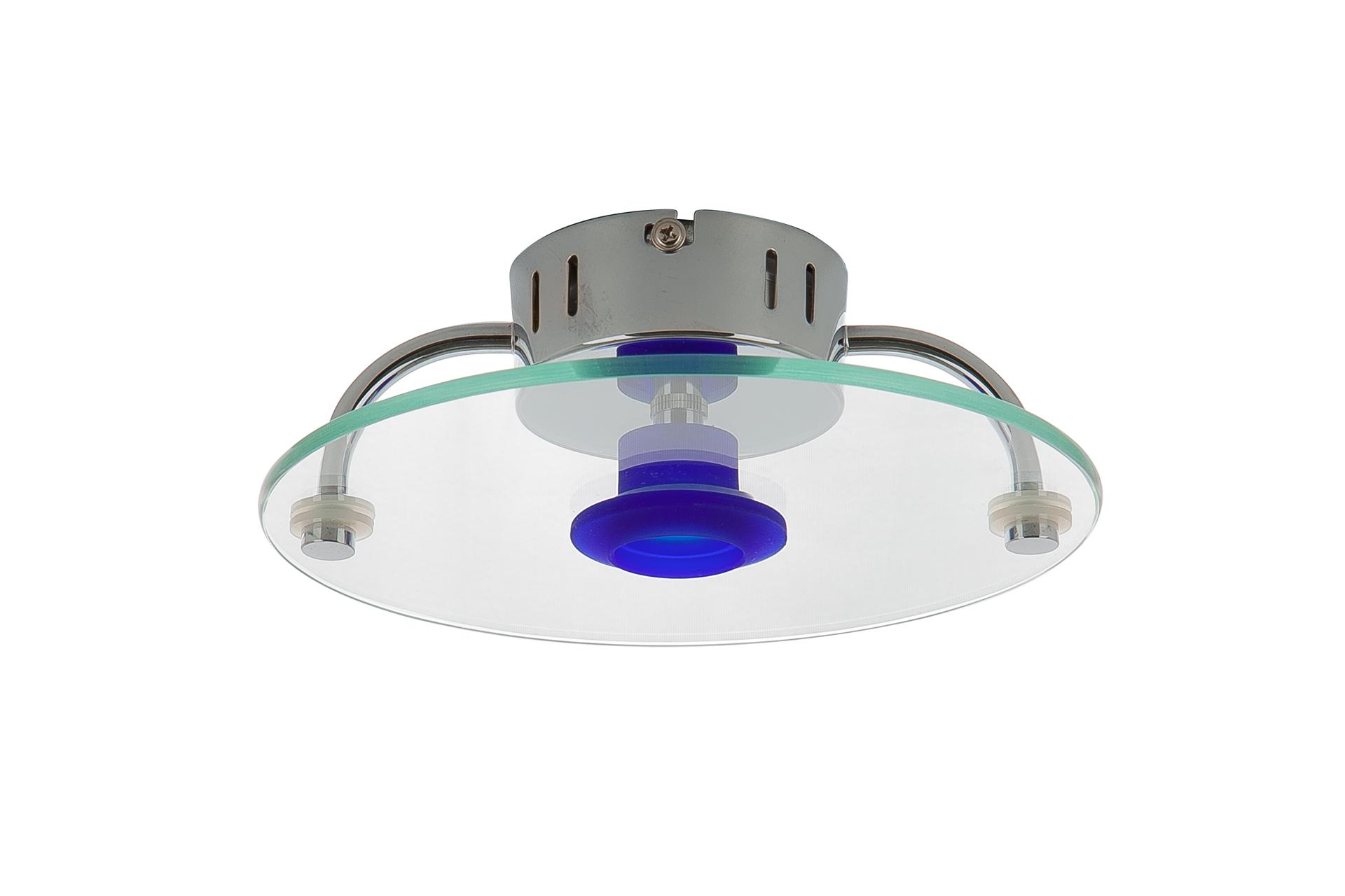 {} CRYSTAL LIGHT Светильник потолочный Umay (20 см) лампа галогенная полусфера paulmann g4 20w 2900к 83233