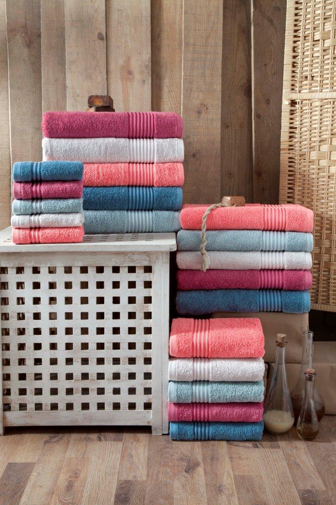 Полотенца Arya Полотенце Chique Цвет: Коралловый (100х150 см) полотенце 100 100 см авангард
