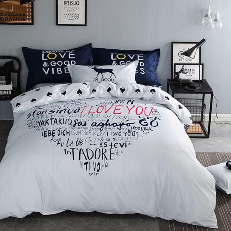 Постельное белье Riteil Постельное белье Love You (2 сп. евро) постельное белье адель шоколад евро