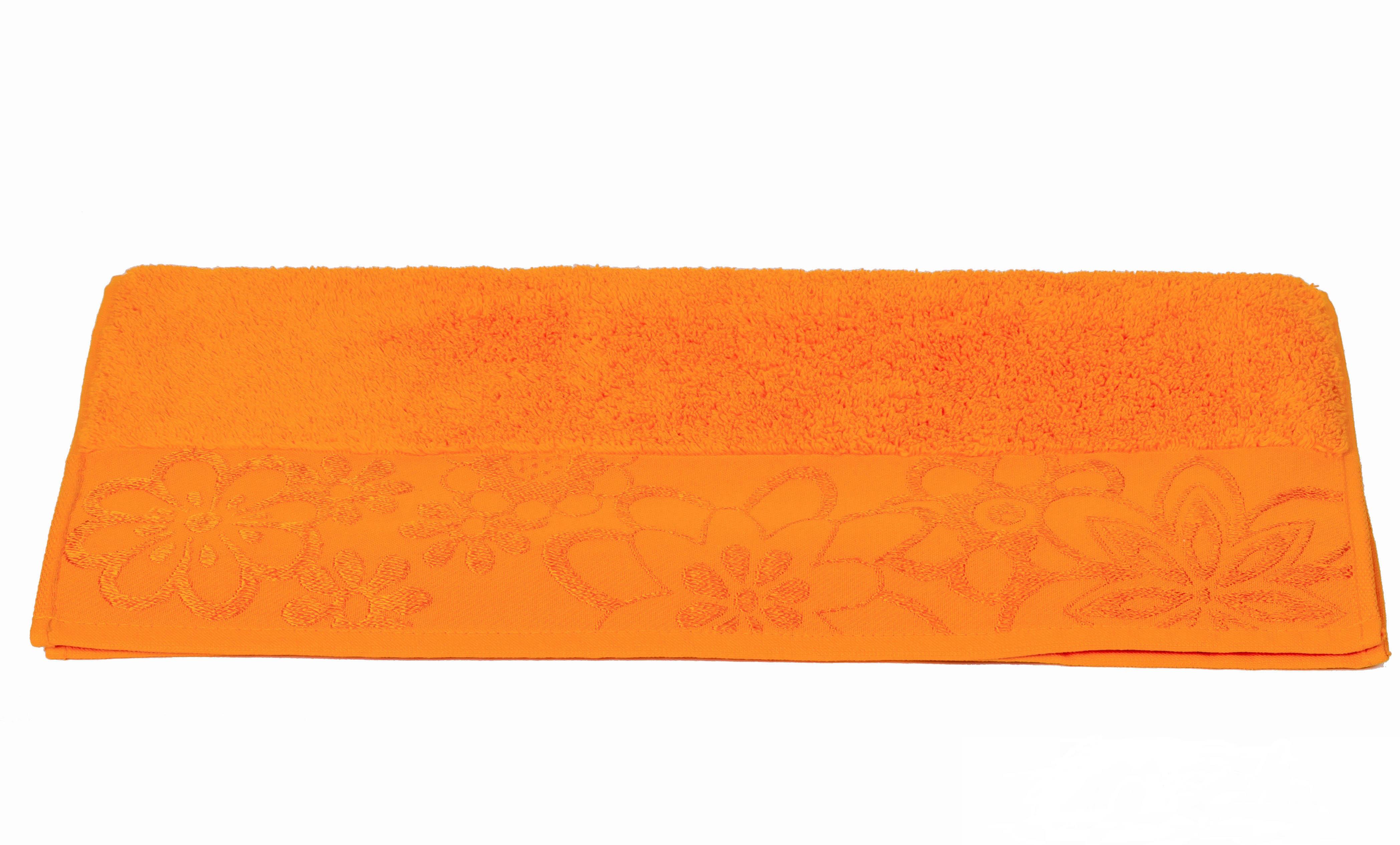 Полотенца HOBBY HOME COLLECTION Полотенце Dora Цвет: Светло-Оранжевый (30х50 см) cite marilou полотенце 30x50 цвет голубой