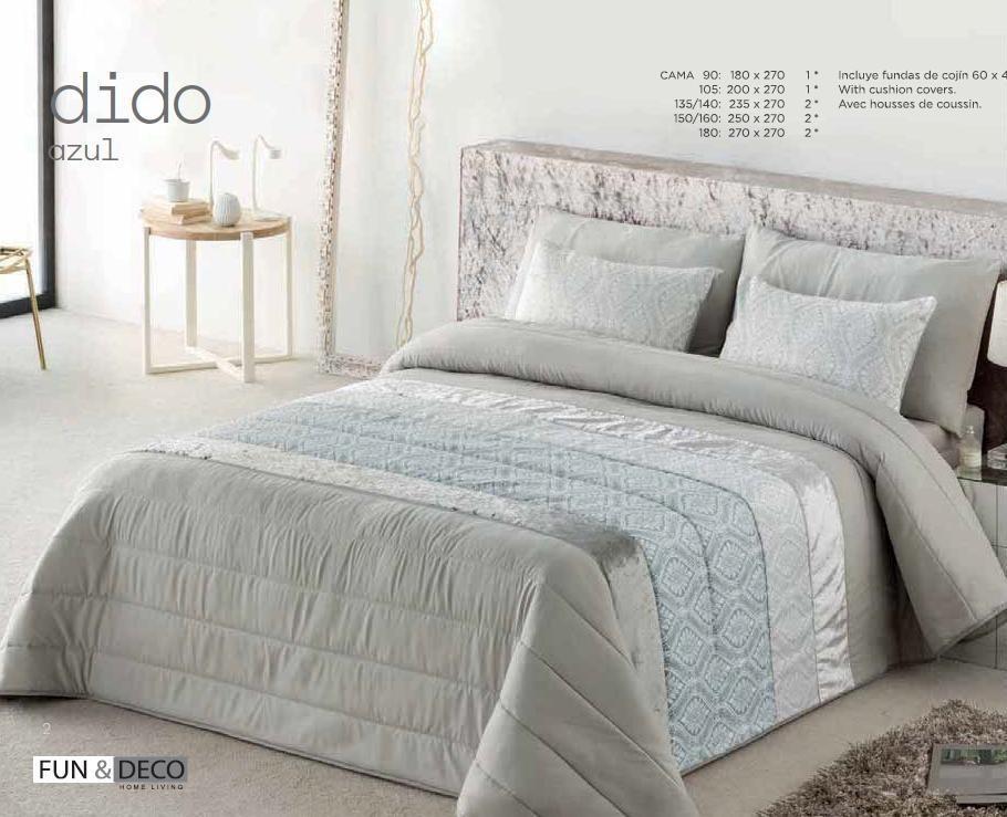 где купить Покрывало Antilo Покрывало Dido Цвет: Лазурный (250х270 см) по лучшей цене