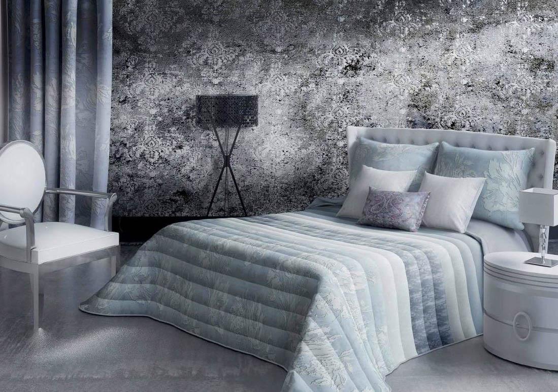 купить Покрывало Algodon Blanco Покрывало Erica Цвет: Голубой (250х270 см) дешево