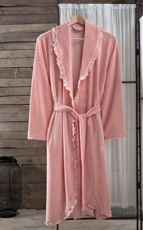 Сауны, бани и оборудование Arya Халат Frida Цвет: Розовый (L) сауны бани и оборудование arya халат zeus цвет синий m