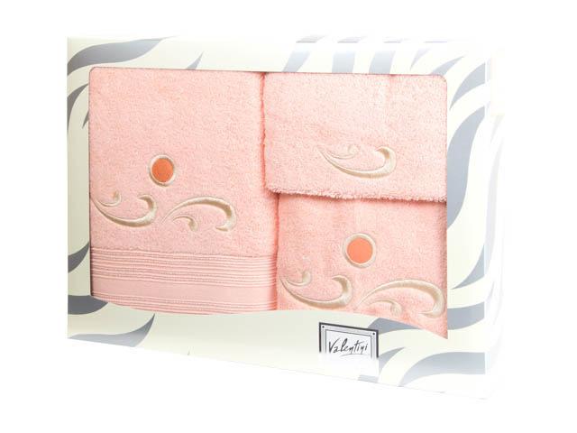 Полотенца Valentini Полотенце Fantasy Цвет: Нежно-Персиковый (Набор) сауны бани и оборудование valentini набор для сауны fantasy