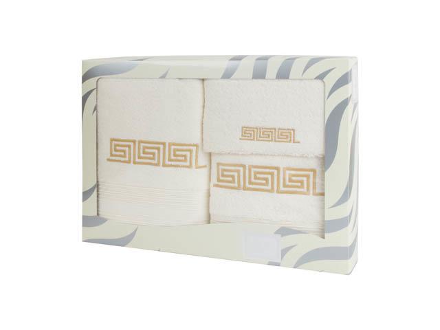 Полотенца Valentini Полотенце Fashion 2 Цвет: Белый (Набор) набор из 3 полотенец merzuka sakura 50х90 2 70х140 8432 оранжевый