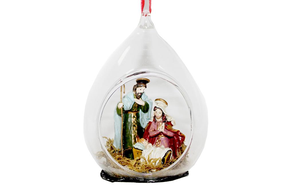 {} Шар Рождество (8х7х11 см) лабрадор 7 8 см 1 шт