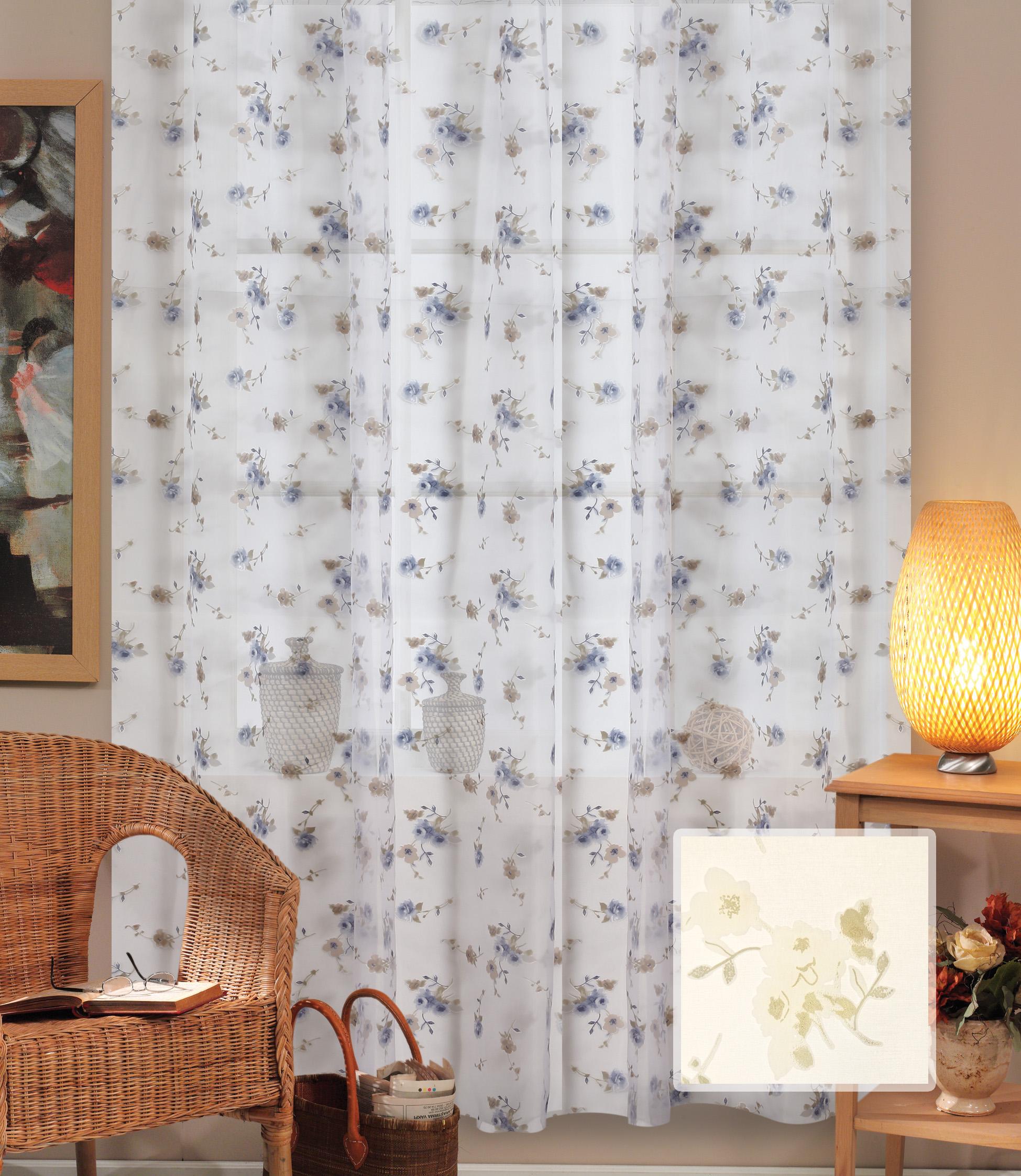 Шторы Miranda Классические шторы Мелкий Цветочек Цвет: Кремовый шторы tac классические шторы winx цвет персиковый 200x265 см