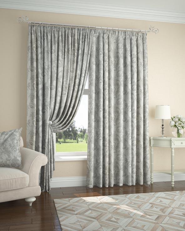 Шторы ARCODORO Классические шторы Bade Цвет: Серый шторы primavera классические шторы maev цвет персиковый
