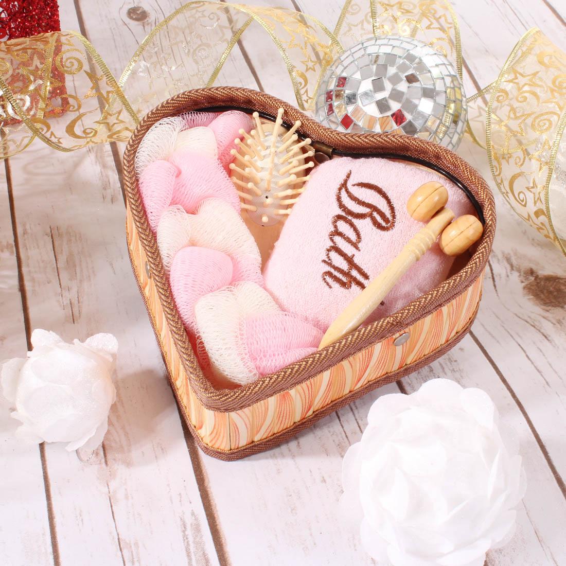 {} Eleganta Набор для ванной Moise Цвет: Розовый (Универсальный) eleganta eleganta фотошторы блюз