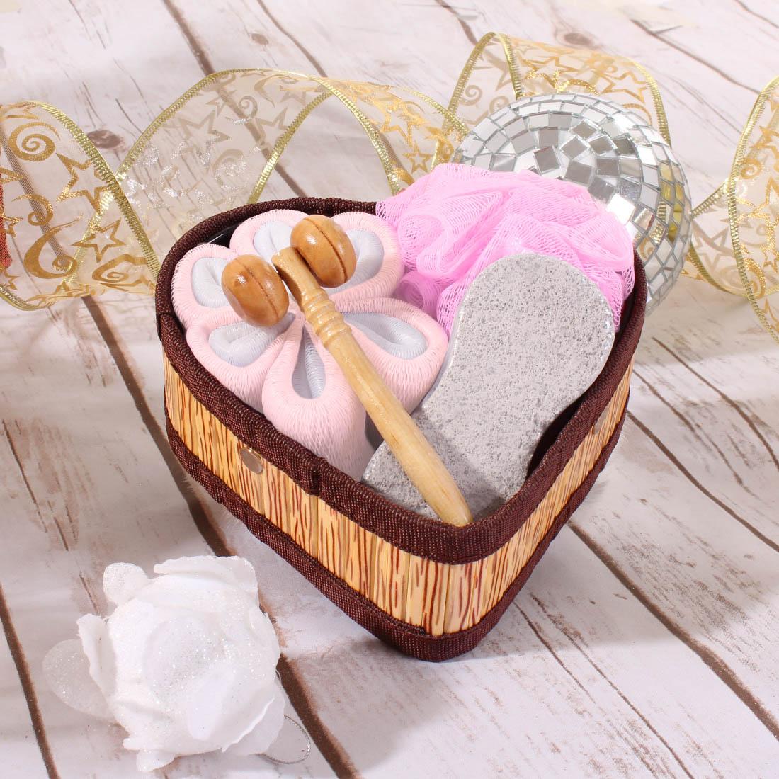 {} Eleganta Набор для ванной Dave Цвет: Розовый (Универсальный) видеокарта msi n750ti 2gd5 ocv1 gtx750ti 2гб gddr5 retail