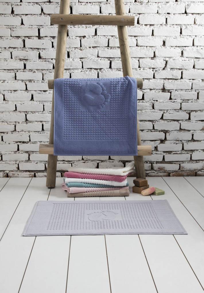 Аксессуары для ванной и туалета Arya Коврик для ванной Winter Soft Цвет: Голубой (50х70 см) аксессуары для ванной и туалета arya коврик для ванной marcy цвет бежевый набор