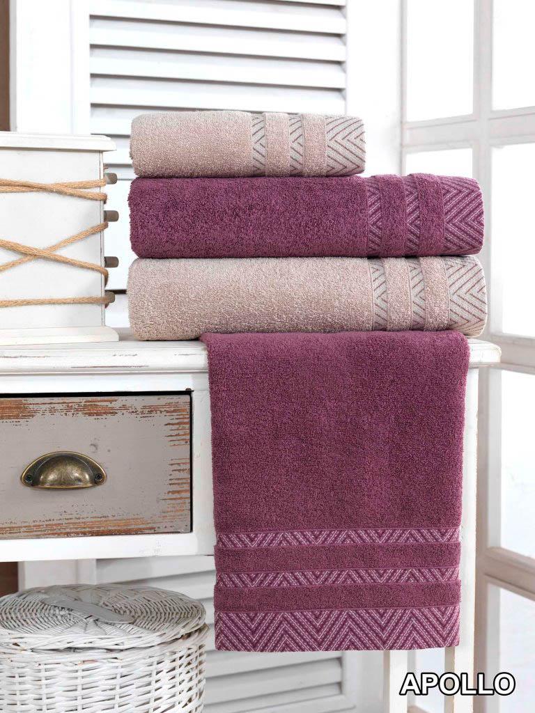 Полотенца Arya Полотенце Apollo Цвет: Пурпурный (50х90 см)