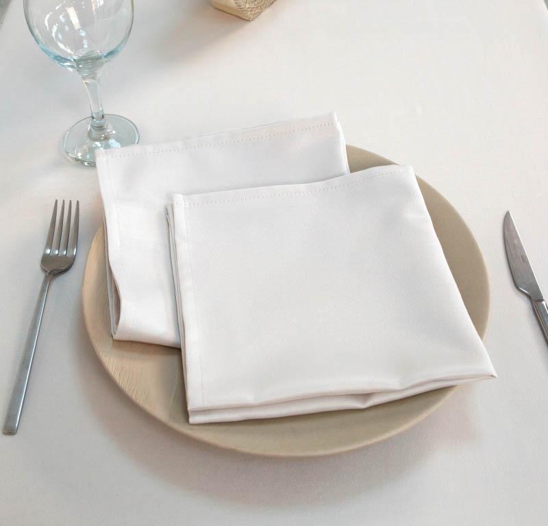 Скатерти и салфетки Arya Салфетки Pearl Цвет: Белый (40х40 см - 2 шт)