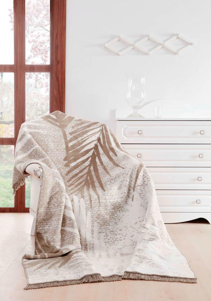 Плед Arya Плед Oreo Цвет: Бежево-Серый (150х200 см)