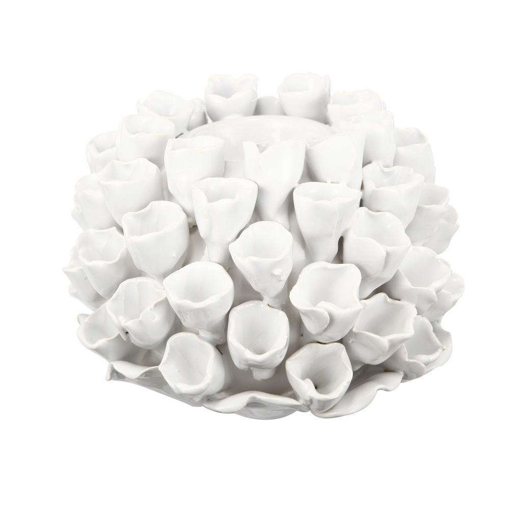 {} ARTEVALUCE Подсвечник Коралл Цвет: Белый (10х15х15 см) onika коралл 30 10