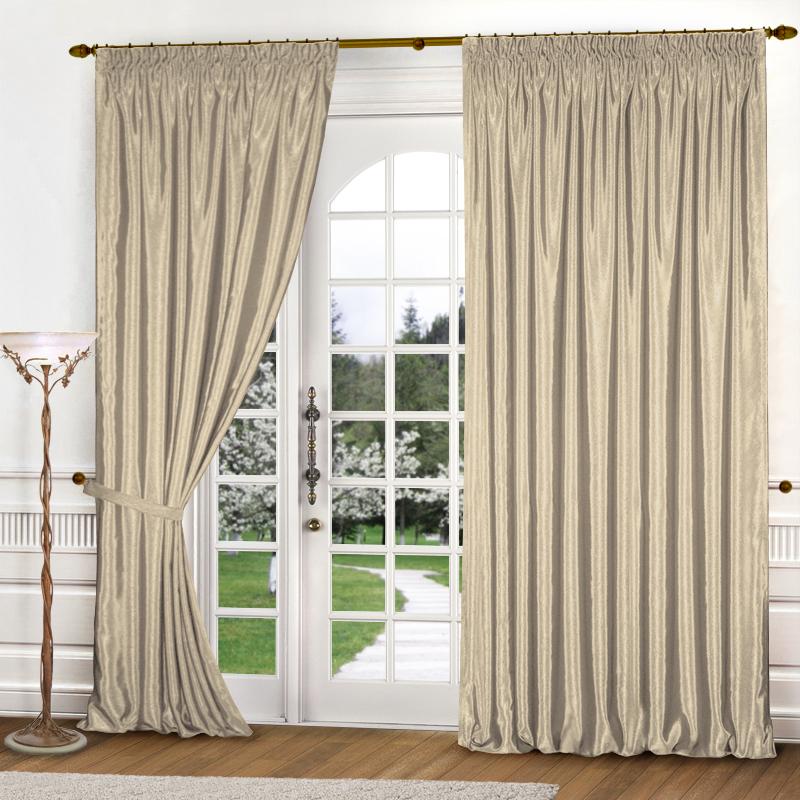 Шторы Elegante Классические шторы Шелковый Блеск Цвет: Светло-Бежевый шторы elegante классические шторы туман цвет персиковый