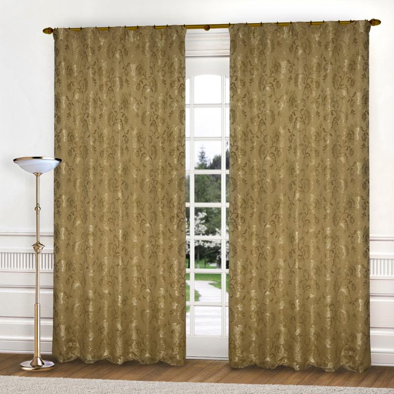 Шторы Elegante Классические шторы Гербарий Цвет: Бежевый шторы tac классические шторы winx цвет персиковый 200x265 см