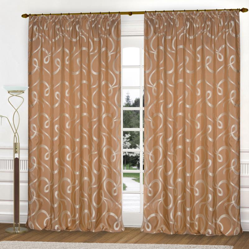 Шторы Elegante Классические шторы Линия Судьбы Цвет: Терракотовый шторы elegante классические шторы туман цвет персиковый