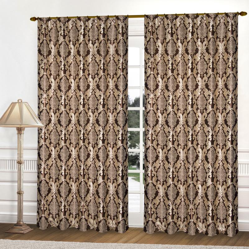 Шторы Elegante Классические шторы Франция Цвет: Коричневый шторы kauffort классические шторы barolo