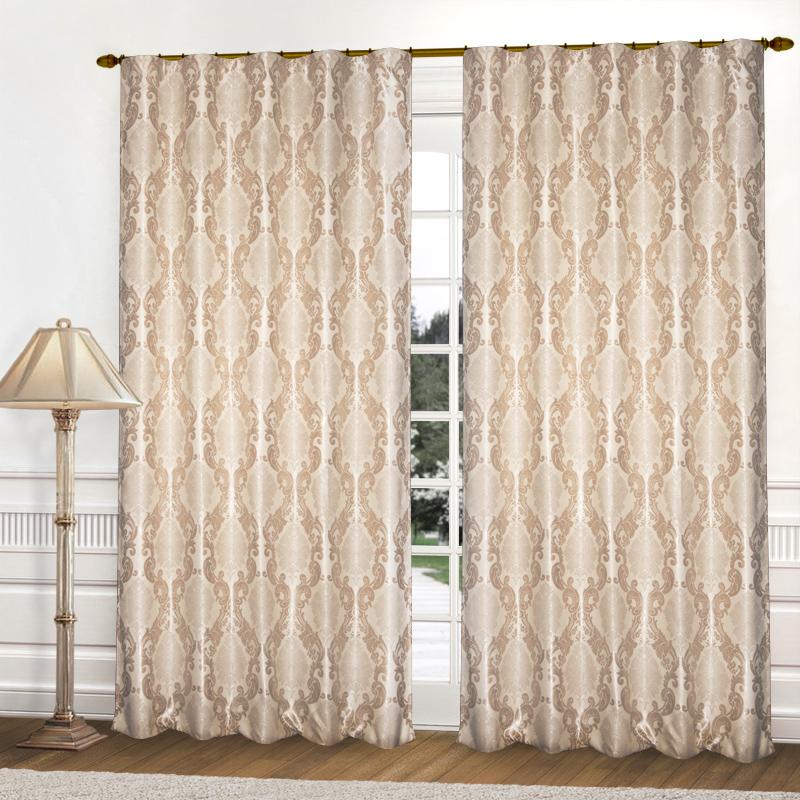 Шторы Elegante Классические шторы Франция Цвет: Бежевый шторы tac классические шторы winx цвет персиковый 200x265 см