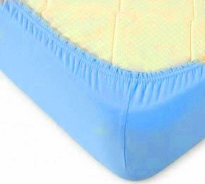 где купить Простыни KAYALAR Простыня на резинке Marlee Цвет: Голубой (180х220) по лучшей цене