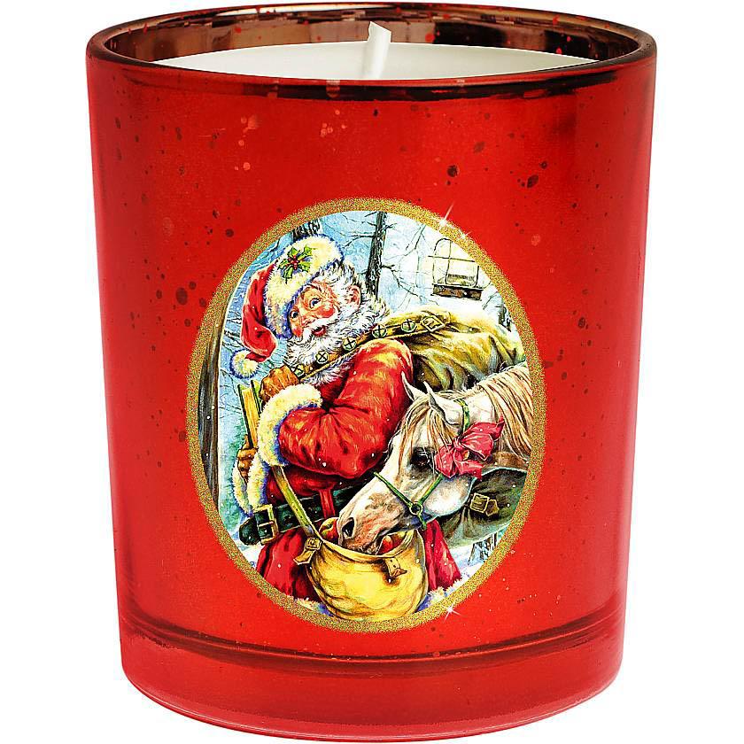 {} Набор свечей Зимняя Сказка Цвет: Красный набор новогодних свечей mister christmas зимняя сказка высота 7 см kg set 3