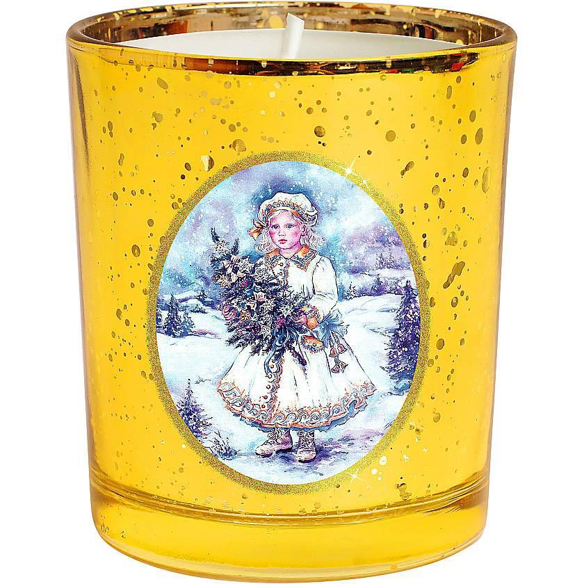 {} Набор свечей Зимняя Сказка Цвет: Желтый набор новогодних свечей mister christmas зимняя сказка высота 7 см kg set 3