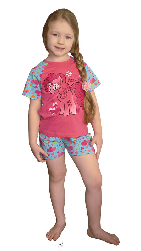Детские пижамы Pastilla Детская пижама Пони (4 года) пижама жен mia cara майка шорты botanical aw15 ubl lst 264 р 42 44 1119503