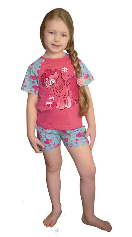 Детские пижамы Pastilla Детская пижама Пони (2-3 года) пижама жен mia cara майка шорты botanical aw15 ubl lst 264 р 42 44 1119503