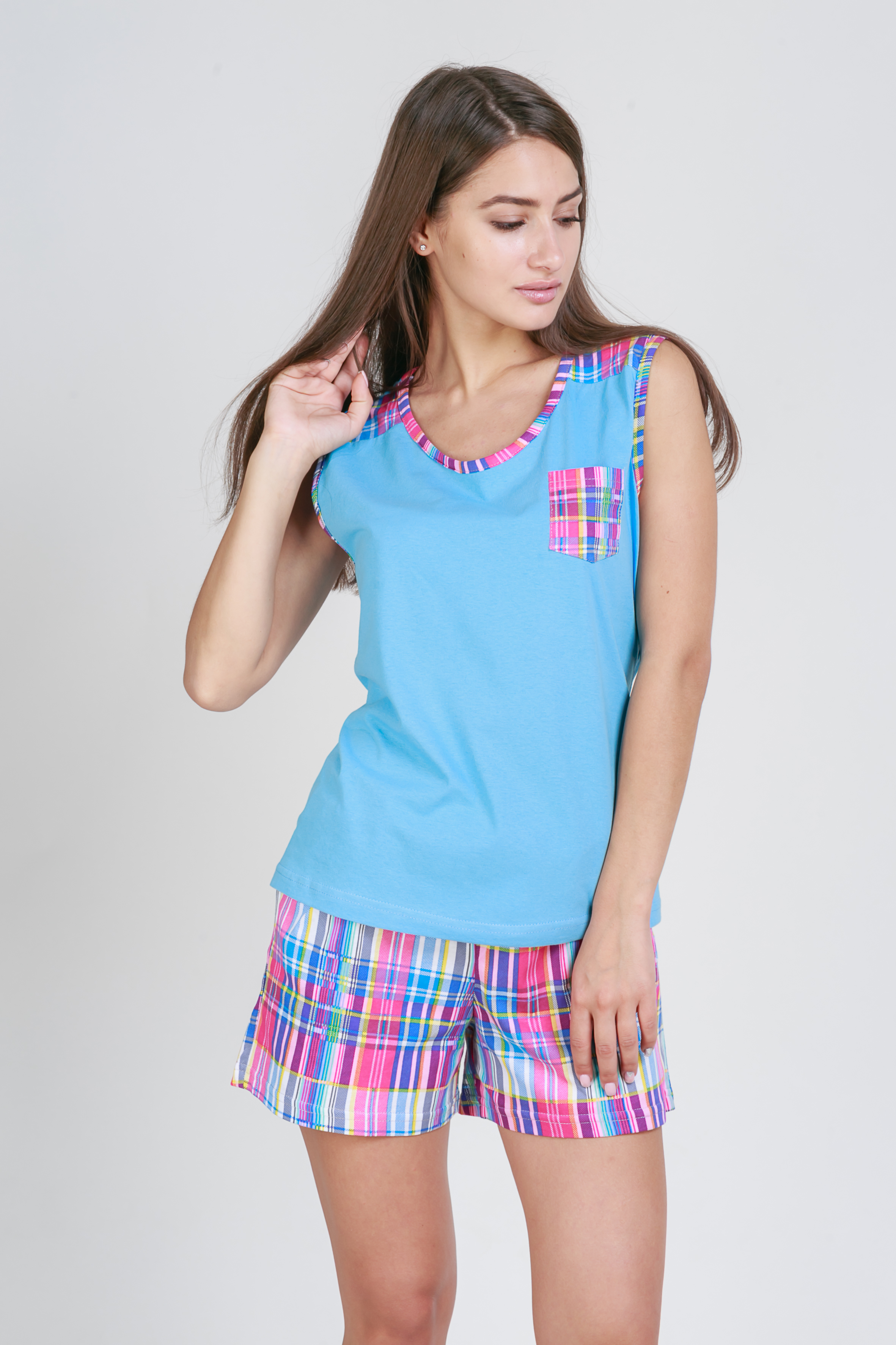Пижамы Pastilla Пижама Сорренто (L-xL) пижама жен mia cara майка шорты botanical aw15 ubl lst 264 р 42 44 1119503