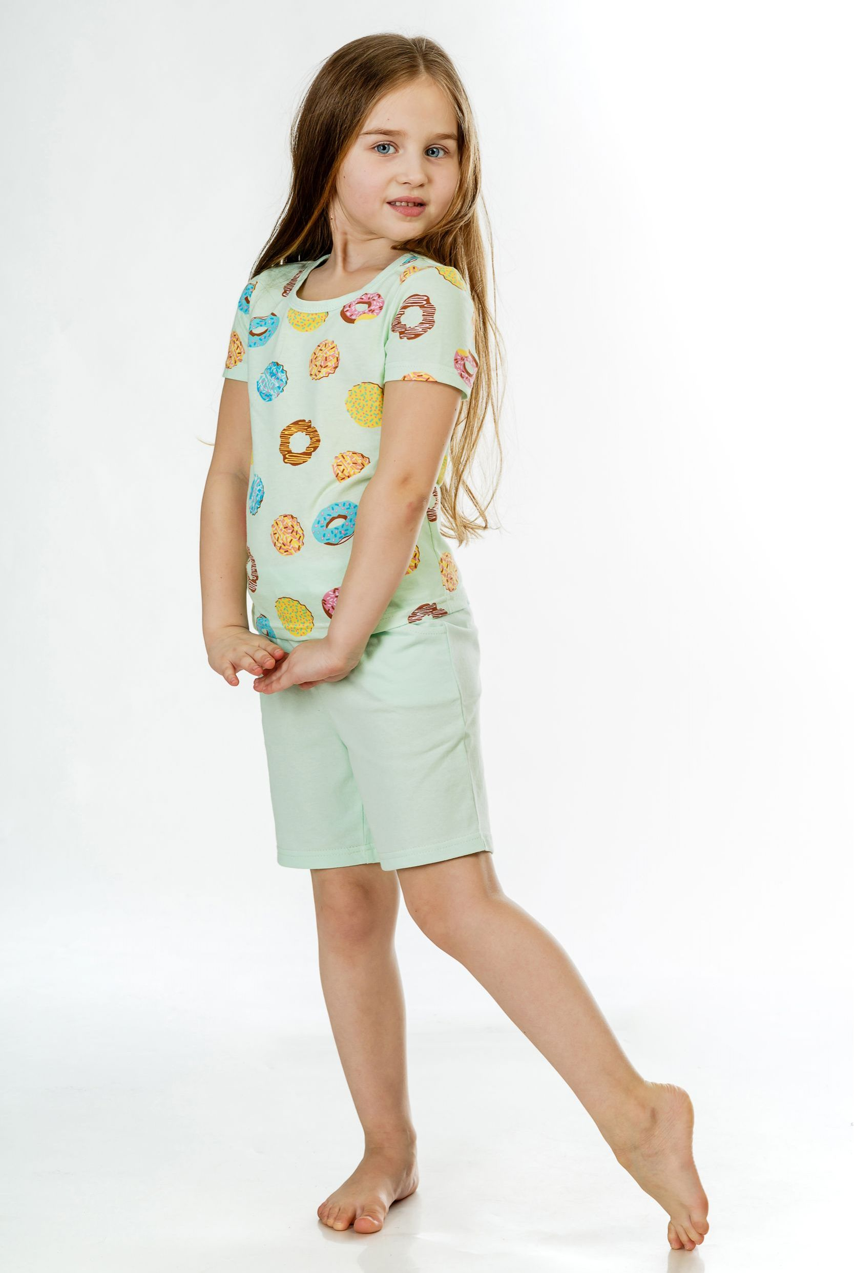 Детские пижамы Pastilla Детская пижама Лакомка 2 Ц��ет: Ментол (6 лет)