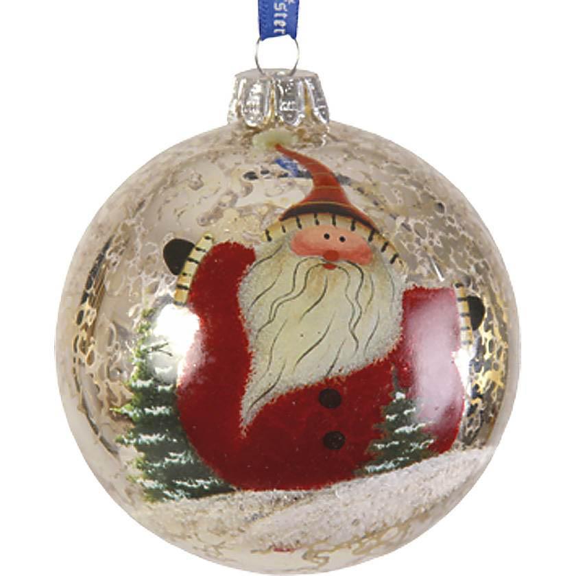 {} Набор шаров Дед Мороз И Снеговик snowlife набор из 6 шаров елочных дед мороз диам 75 мм
