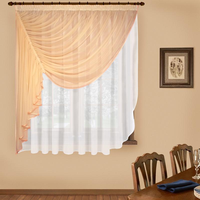 Шторы Elegante Императорские шторы Фантазия Цвет: Персиковый шторы tac классические шторы winx цвет персиковый 200x265 см