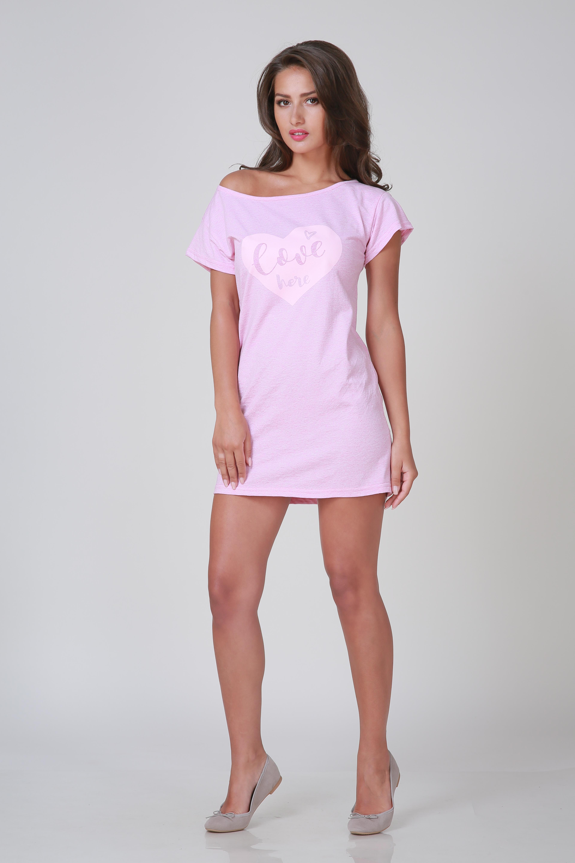 Туники, сарафаны Pastilla Туника Пинк Цвет: Розовый Меланж (S)
